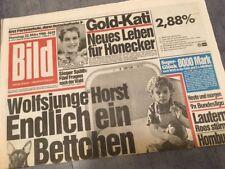 Bildzeitung BILD 22.03.1988 * Das besondere Geschenk zum 30. 31. 32. Geburtstag