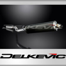"BMW R1150RT 18"" Carbon Fiber Oval Muffler Exhaust Slip On 01 02 03 04 05"