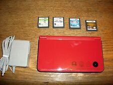 Bundle Nintendo DSi XL Super Mario Bros 25th Anniversary Edition~Charger 4 Games