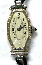 Leonidas W.F.Y, 17J, Very Rare, Working,  Antique, Womens 18K Solid Gold Watch