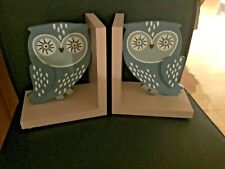 BN Gisela Graham Wooden Bookends - Owls