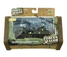 1:72 Diecast Unimax Forces of Valor WWII US M4A1 Sherman Mine Roller Tank D-Day