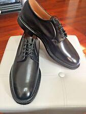NEW💥Church's Shannon💥Black Derby Plain Toe Shoes Men💥Calf Leather
