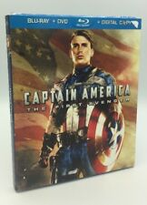 Captain America: The First Avenger (Blu-ray+DVD+Digital, 2011) NEW OOP Slipcover