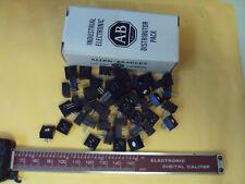 9ab  25-Qty LOT ALLEN-BRADLEY  500-ohm Trimmer Trim Pot Variable Resistor