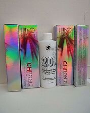 Original CHI Hair Color Shine IONIC~ Buy 4 Tubes; Get A 20 Volume 8 oz Developer