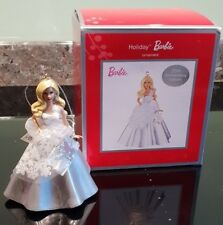 Holiday Barbie : christmas ornament : 25th Anniversary - new & boxed