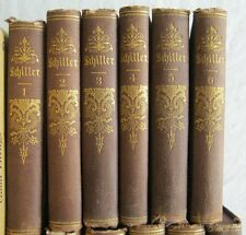 The Complete Works Of Friedrich Schiller Kohler Philadelphia 1871 12 Volumes