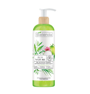 Eco Nature Coconut Green Tea Lemon Grass Detoxifying Face Cleansing Gel 200g