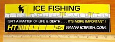 New listing Icefishing Sticker Decal Ice Fishing Ht Enterprises Wisconsin Wi Fisherman Fish