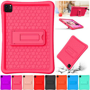 For iPad 9.7 5/6th Gen 2018 Pro 12.9 2020 Air 2 Kids Soft Silicone Case Cover