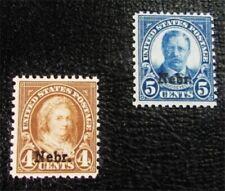 nystamps US Stamp # 673,674 Mint OG H $33