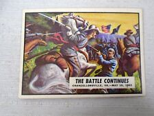 The Battle Continues Civil War News trading Card #42 Badly Battered Union Retre