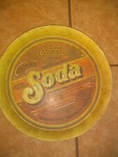 Vintage Metal Tray - Colonel Goodfellow's Famous Soda - 1979 - Great Shape