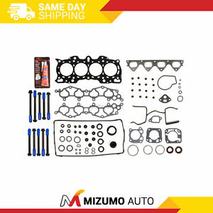 MLS Head Gasket Bolts Set Fit 90-01 Acura Integra 1.8L DOHC B18A1 B18B1
