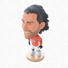 Carlos Tevez Figurine Toys Collection Manchester United Shirt On Player