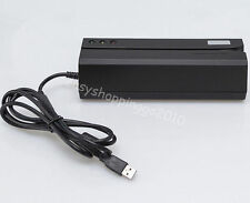 Usb Magnetic Card Reader/Writer 3-track Standard Msre206 Compatible with 206 605