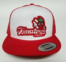 TOMATEROS DE CULIACAN  HAT MESH TRUCKER WHITE RED   SNAP BACK ADJUSTABLE  NEW