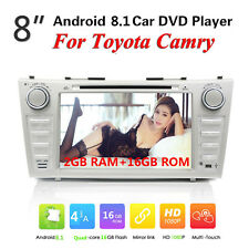 Android 8.1 For Toyota Camry 2007 -2011 GPS Car Stereo DVD Player Radio Indash