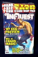 InQuest Magazine Issue #21 FS New 1997 nm/m MTG WOTC X-Files Wizard Amricons