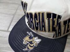 1990s vintage GEORGIA TECH snapback hat STARTER cap ALL-OVER