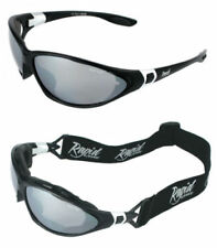 Gafas de sol de hombre gris negro deportivo