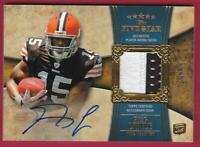 GREG LITTLE RC 2011 TOPPS FIVE STAR ROOKIE PATCH AUTO #09/55 AUTOGRAPH RPA