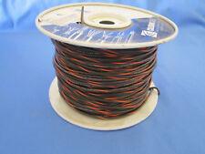 18 Gauge MTW/TEW Stranded Copper Wire Brown Orange Stripe Partial Roll 400'-450'