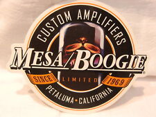 MESA BOOGIE GUITAR AMP BASS AMP DECAL STICKER CASE RACK BUMPER STICKER NICE NEW