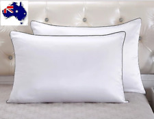 LIMITED TIME SALE!HIGH QUALITY 100% Mulberry Silk Pillowcase Thick 25Momme White