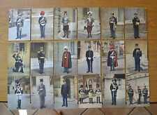 LOTTO 18 CARTOLINE GENDARMERIA PONTIFICIA GUARDIA PALATINA SUBALPINA HH