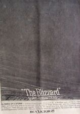 JIM REEVES 1961 original POSTER ADVERT THE BLIZZARD rca vicor