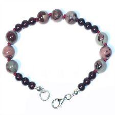 Armbänder mit Granat-Edelsteinen unbehandelte für Damen