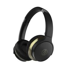 NEW audio-technica ATH-AR3BT-BK Wireless On-Ear Headphones Bluetooth from JAPAN