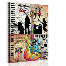 HD Canvas Prints Home Decor Wall Art Painting-Abstract Music Dance #2 Unframed