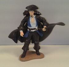 """3"""" Animated Captain Jack Sparrow Decopac Action Figure Pirates Of The Caribbean"""