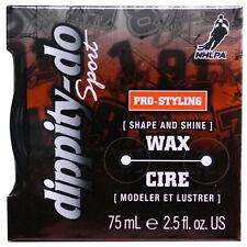 NEW Dippity-Do Sport Shape and Shine Hair Wax 2.50 Ounces (3 Pack)