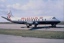 576056 British Vickers Viscount 804 Sumburgh Shetland UK A4 Photo Print