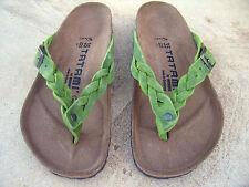 db4f6532ce4da8 Birkenstock TATAMI Adria EURO 35 L 4 - 4.5 225 Peridot green Regular leather