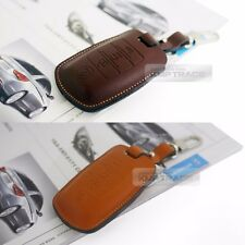 Promotion Natural leather Key Cover Case Holder For KIA 2012 - 2016 Rio / Pride