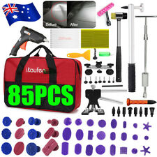 Paintless Repair PDR Tools Dent Puller Slide Hammer Removal Kits Glue Gun 85pc