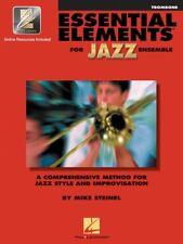 New Essential Elements for Jazz Ensemble: Trombone Book & Online Audio