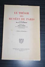 Le trésor des musées de Paris - Raymond Clermont - Dédicace