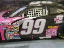 Hot Wheels Jeff Burton Racing NASCAR Pink & Black Ford Exide Batteries Car 1:24