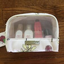 Crabtree & Evelyn Pear Pink Magnolia Gift Set Cosmetics Case Body Lotion Wash