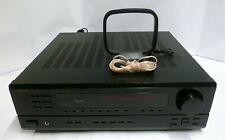 DENON DRA 295 2 Channel 100 WATT RECEIVER - No Remote , WORKING A/V RECEIVER