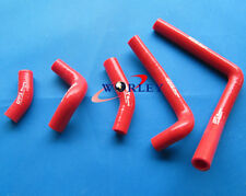 For Honda CR250 CR250R CR 250 R 2002-2008 03 04 05 06 Silicone Radiator Hose RED