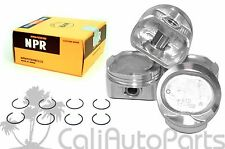 98-99 Toyota Corolla Chevy Prizm 1.8L 1ZZFE DOHC COMPLETE PISTONS & RINGS SET