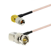 1.0/2.3 Din to BNC Right Angle RG179 Cable 30cm for Blackmagic HyperDeck Shuttle