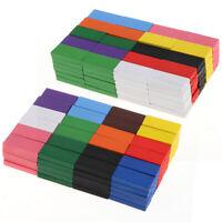 240pcs en bois enfants dominos jouet dominos blocs de construction jeu cadeau 12